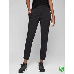 ATHLETA Black Trekkie Jogger Nylon Pant